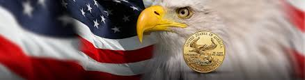 Bald Eagle On Flag Degussa Onlineshop Für Gold Und Silber