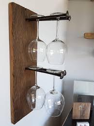 appendi bicchieri bar portabicchieri in legno di recupero mobili lapi shop