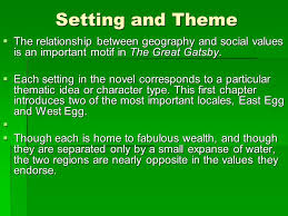themes of wealth in the great gatsby chapter 1 analysis ppt download