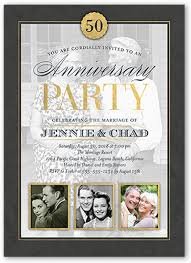 50th wedding anniversary invitations 50th wedding anniversary invitations shutterfly