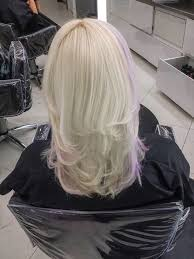 hair platinum highlights lavender highlights on platinum hair back seven sins salon