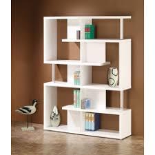 Coaster Bookshelf White Cream Bookcases White And Cream Bookshelves Home Gallery