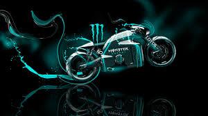 monster energy lotus c 01 fantasy plastic bike azure neon