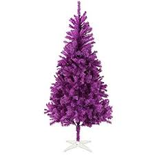 purple christmas tree vickerman pre lit purple tinsel pencil artificial