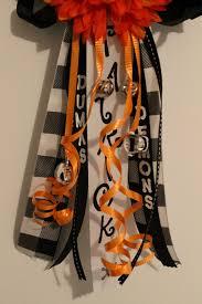homecoming ribbon simple homecoming and garter tutorial child at