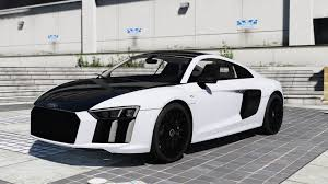 audi r8 2017 audi r8 add on replace wipers tuning gta5 mods com
