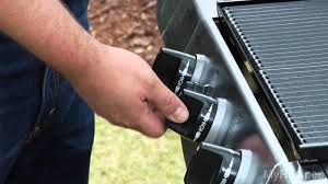 Backyard Grill Refillable Propane Tank by How To Light A Propane Gas Grill Youtube