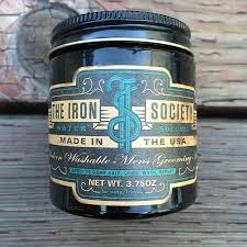 Pomade Tis the iron society water soluble pomade hedgelion