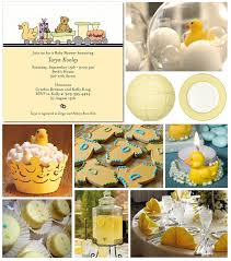 Yellow Duck Baby Shower Decorations Rubber Duckie Baby Shower Decorations Rubby Ducky Baby Shower