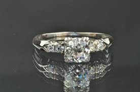 mine cut engagement ring 70 carat mine cut solitaire engagement ring sold on