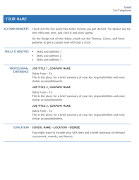 promo model resume template internal promotion sample within