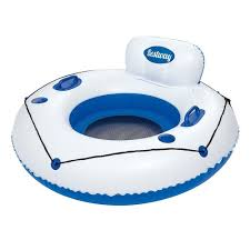 bestway 43108 floating chair air mattress luxury lounge 119 cm
