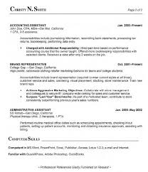 Accounting Assistant Resume Samples by Awesome Medical Assistant Resume Skills