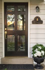 glass front house little black door glass front doors don u0027t be afraid