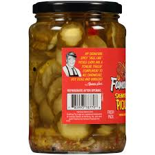 Dave And Busters Halloween 2015 by Famous Dave U0027s Signature Spicy Pickle Chips 24 Fl Oz Jar