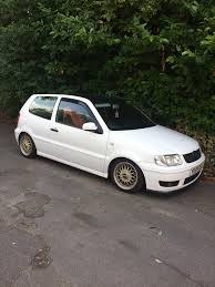 volkswagen polo white modified vw polo 6n2 modified in newmarket suffolk gumtree