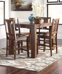 ashley dining room furniture set buy ashley furniture chimerin rectangular dining room counter
