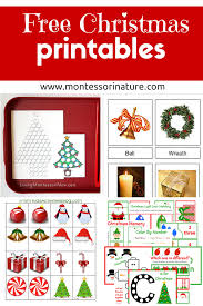 free christmas printables learning resources for preschool kids