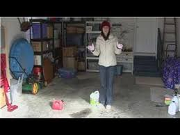 Best Cleaner For Basement Floor by Housekeeping Tips How To Clean Up A Small Gasoline Spill Youtube
