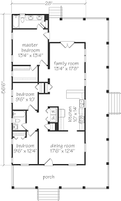 House Plans With Kitchen In Front Great One Story Cottage Floor Plan Just Need To Move The Kitchen