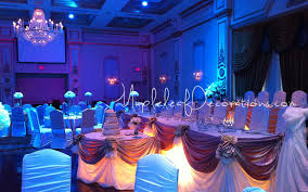wedding decorations for banquet halls and ceremonies in toronto