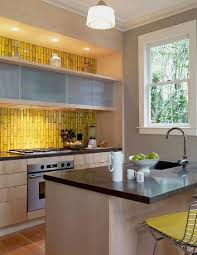 yellow kitchen backsplash ideas yellow backsplash tiles dayri me