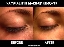 eye make up remover using coconut oil