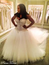 wedding dress with bling discount bling cathedral wedding dresses 2016