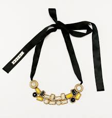 ribbon necklace images Marni ribbon necklace designer consignment toronto hazellily jpg