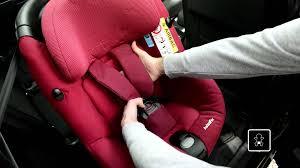 siege auto i size bebe confort installation du siège auto pivotant i size axissfix de bebe