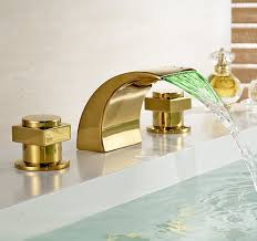 gold finish bathroom faucets best bathroom decoration