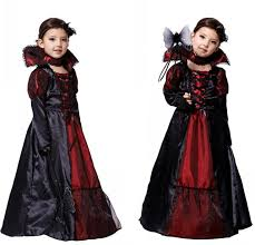 Vampire Halloween Costumes Kids Girls Aliexpress Buy Halloween Girls Costumes Vampire Queen