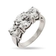 three stone engagement rings inspired cz 3 stone engagement ring eve u0027s addiction