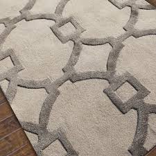 Modern Wool Area Rugs Contemporary Wool Area Rugs Fretwork Plush And Silk Rug Pinterest