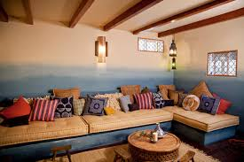 moroccan basment for room crashers eclectic basement los