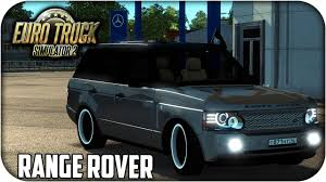 range rover truck 2016 range rover supercharged euro truck simulator 2 1 23 1 24