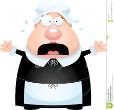 thanksgiving pilgrims clipart scared cartoon pilgrim stock vector image 51126634