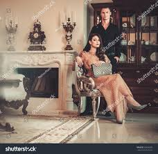 Luxurious Home Interiors Young Couple Luxury Home Interior Stock Photo 239290207 Shutterstock