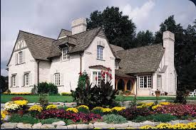 french country house exteriors french country chalet rear