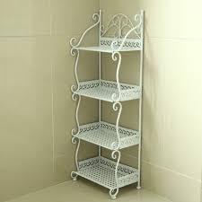 Wrought Iron Bathroom Shelves Iron Bookshelf Multilayer Shelves Kitchen Divider Shelves Living