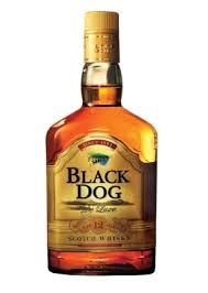 high class whiskey black dog a real indian scotch whisky followtheboat