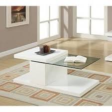 Modern White Coffee Table White Coffee Tables Foter