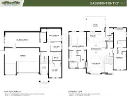 apartments basement entry floor plans split entry basement floor