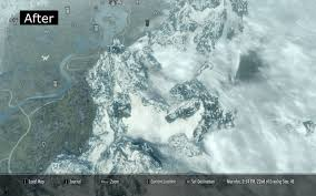 Skyrim Quality World Map by A Clear World Map With Clouds インターフェース Skyrim Mod