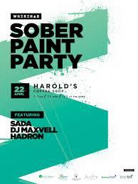 sober paint party