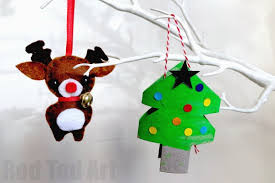 toilet paper roll ornaments ted s