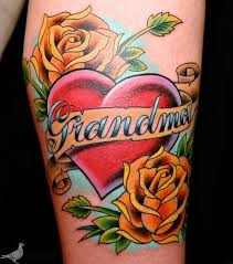 tattoo pictures color color grandma memorial tattoo by durb tattoos