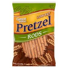 where to buy pretzel rods great value pretzel rods low 12 oz walmart