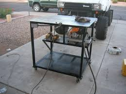 diy welding table plans mobile welding table done pirate4x4 com 4x4 and off road forum