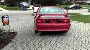 fox body tail lights hid led mustang youtube